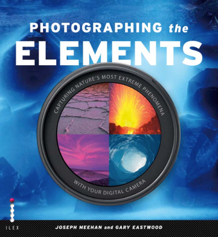 Cover of highly successful landscape photography book, Photographing the Elements.